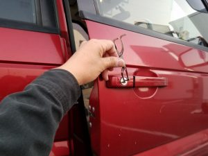 レンジローバーのインロック開錠