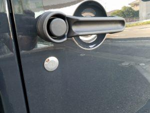 ジープ・ラングラーの鍵穴