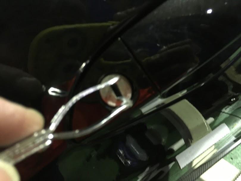 BMWの開錠