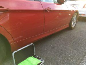 BMW320iのインロック開錠