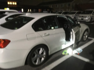 BMWのドア開錠